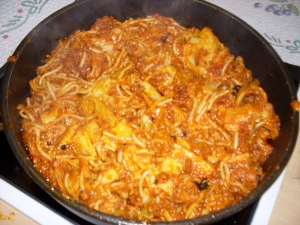 All kinds of pasta Pasta Bake recipe