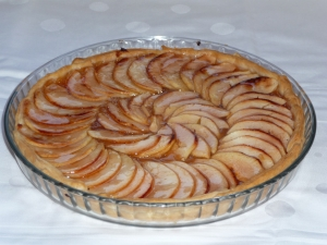 Birthday Tarte fine aux pommes recipe 19102008
