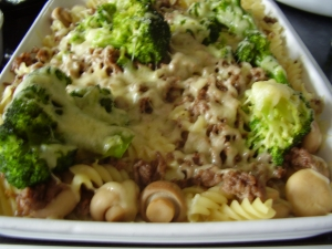 Broccoli noodle casserole recipe