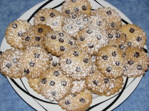 ChocolateOrange Drop Cookies Biscuits recipe