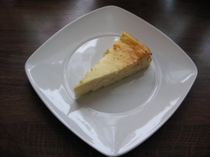 Cottage cheese and cream cheese cake with no ground Biscuits recipe