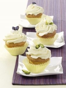 Cupcakes with pineapple cream cheese cream Biscuits recipe