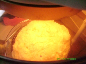 Curd baked bread in the Flavor Wave Oven Bread recipe