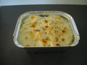 Lasagna with spinach and basil plates Other recipe