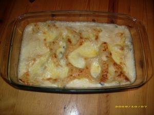 Mushroom lasagna with tofu