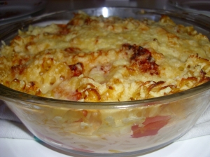 Pasta bake quickly and easily Pasta Bake recipe