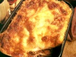 Pastitsio pasta dish from Greece