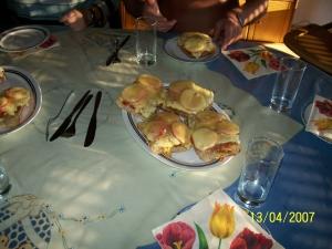 Pizza bread Pipon