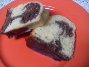 Pound cake  marble cake