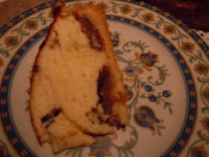Quark cake with raisins and prunes Cheesecake recipe