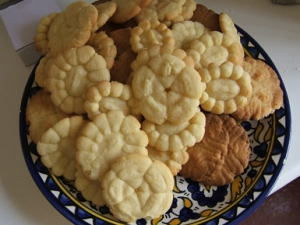 Shortbread cookie with jam Biscuits recipe