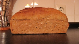 Simple and rapid wholegrain bread Bread recipe