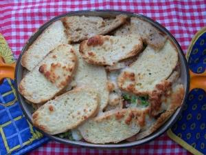 Spicy Ofenschlupfer with ham