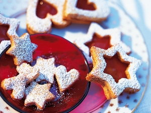 Advent hearts and stars Cookie recipe