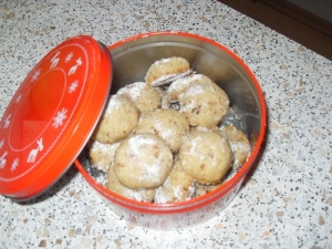 Almond balls just Cookie recipe