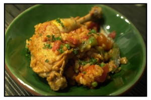 Arroz con pollo rice with chicken