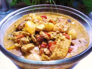Asian chicken pot