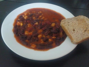 Chili con carne with Pep