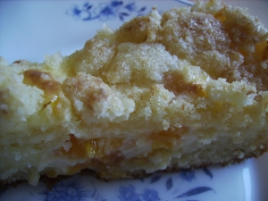 Coconut streusel slices Pie recipe