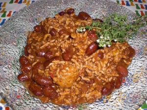 Fiery chili con carne