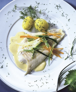 Haddock with Mustard Sauce