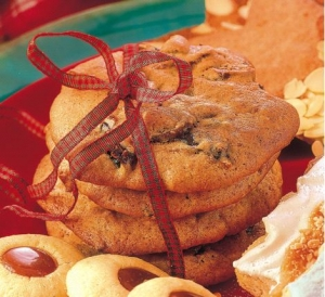 Prune cookies with Calvados Cookie recipe