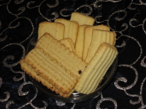 Shortbread cookie with marzipan Cookie recipe