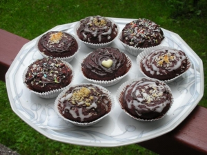 Super Easy Chocolate Muffins Muffins recipe