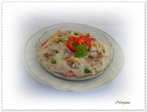 Tuna salad exotic