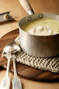 Potato soup with cream