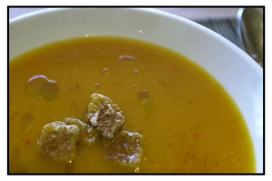 Yellow pepper soup french recipe