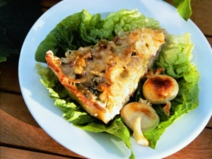 Cabbage-quiche