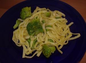 Pasta chi vrocculi arriminati pasta with broccoli