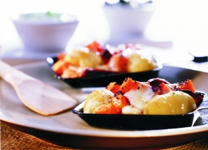 Raclette-with-beetroot-pumpkin-and-poppy-seeds