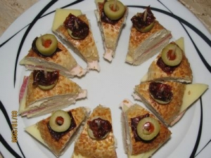 Bagel party appetizers