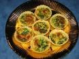 Minileek quiche