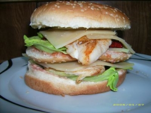 XL Chicken Burger