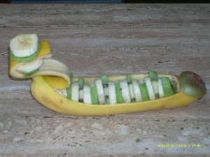 Banana-Kiwi-boat-recipe