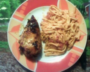 Chicken Breast With Noodles In Tomato Flavor Wave Platinum FWT
