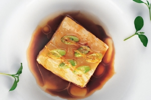 Cod Fillet With Soy Sauce And Peanut Oil