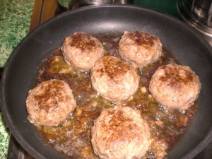 Meatballs With Cheese Filling
