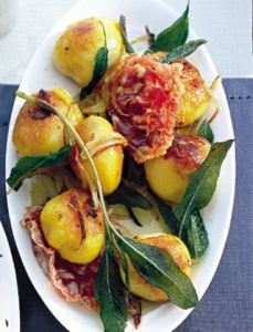 Roasted Potatoes With Sage