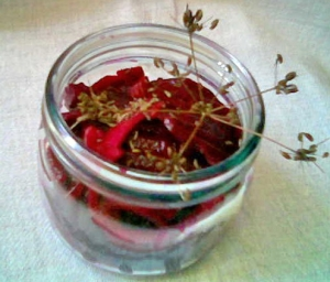 Spicy Red Beet Beetroot