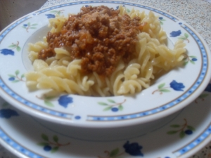 Spicy Meat Sauce