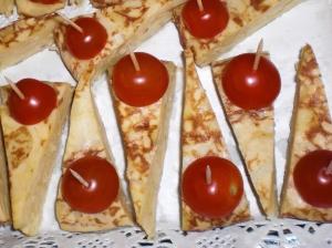 Tortilla Espanola finger food