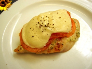 Turkey Breast Steak QuotMilanoquot With Tomatoes And Mozzarella