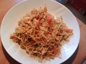 Mii Noodles With Prawns