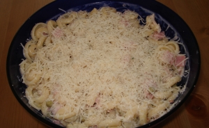 Pasta Salad With Ham And Parmesan
