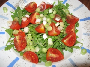 Arugula And Tomato Salad