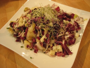 Pear And Gorgonzola Salad